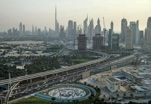 Dubai in den Vereinigten Arabischen Emiraten