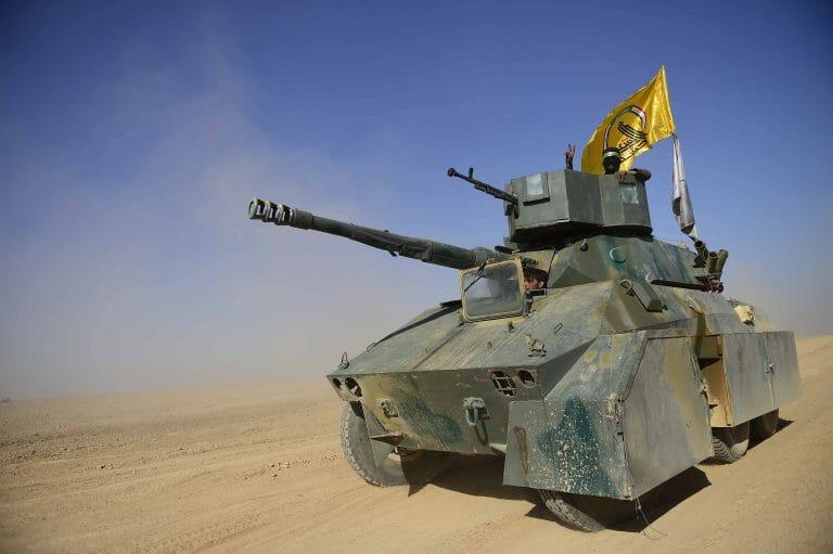Mit dem Iran verbündete Miliz im Irak