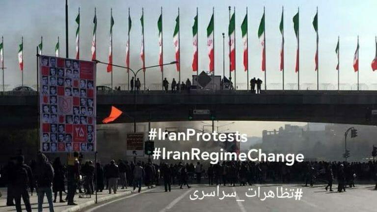 Twitter-Nachricht aus dem Iran