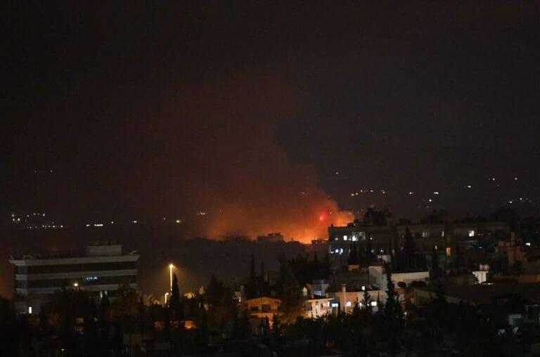 Mutmaßlicher israelischer Angriff auf Flughafen in Syrien