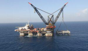 Die israelische Leviathan-Gasbohrinsel