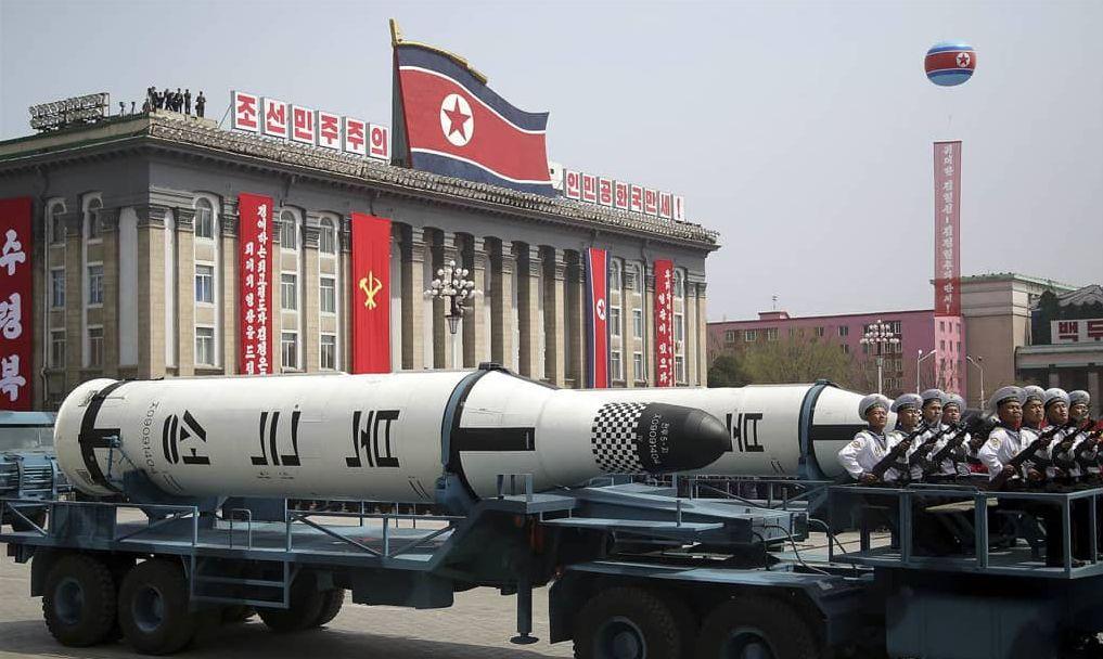 Ein Verbündeter des Westens kauft Waffen in Nordkorea