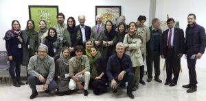 Mitarbeiter der Persian Wildlife Heritage Foundation
