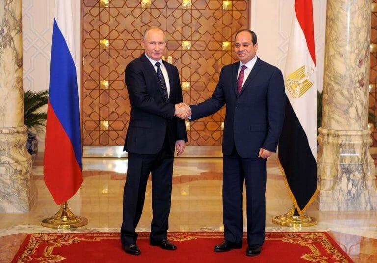 Putin auf Staatsbesuch bei al-Sisi