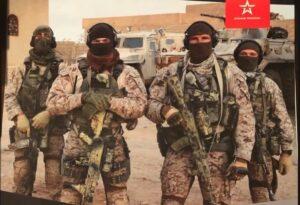 Mitglieder der Söldnertruppe Wagner in Syrien