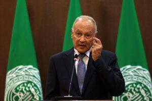 Ahmd Aboul Gheit, Generalsekretär der Arabischen Liga (imago images/Xinhua)