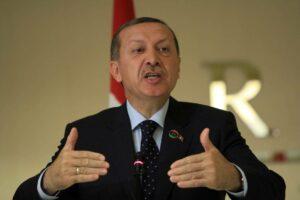 Will Handlanger aus Syrien nach Libyen schicken: der türkische Präsident Erdogan (imago images/Xinhua)