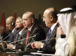 Erdogan im Kreise der OIC (Imago Images/ZUMA Press)