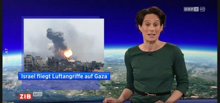 """Israel fliegt Luftangriffe auf Gaza"" (ORF, 8. Dezember 2019)"