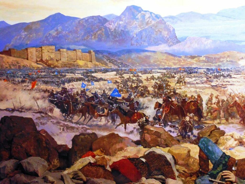 1071 schlagen die Seldschuken bei Manzikert ein byzantinisches Heer (O. Mustafin/CC0 1.0)