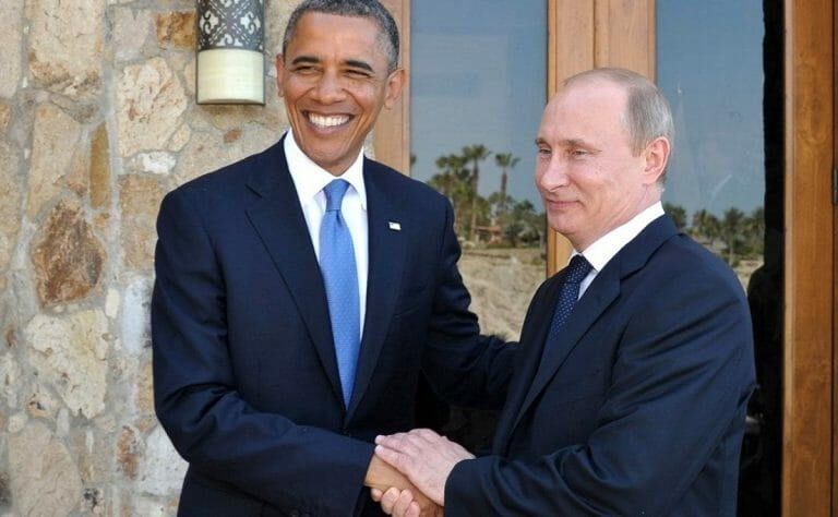 Barack Obama und Vladimir Putin (Quelle: President of Russia)