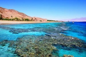 Ein Hotspot des Tourismus in Israel: Das Rote Meer bei Eilat (imago images/Panthermedia)