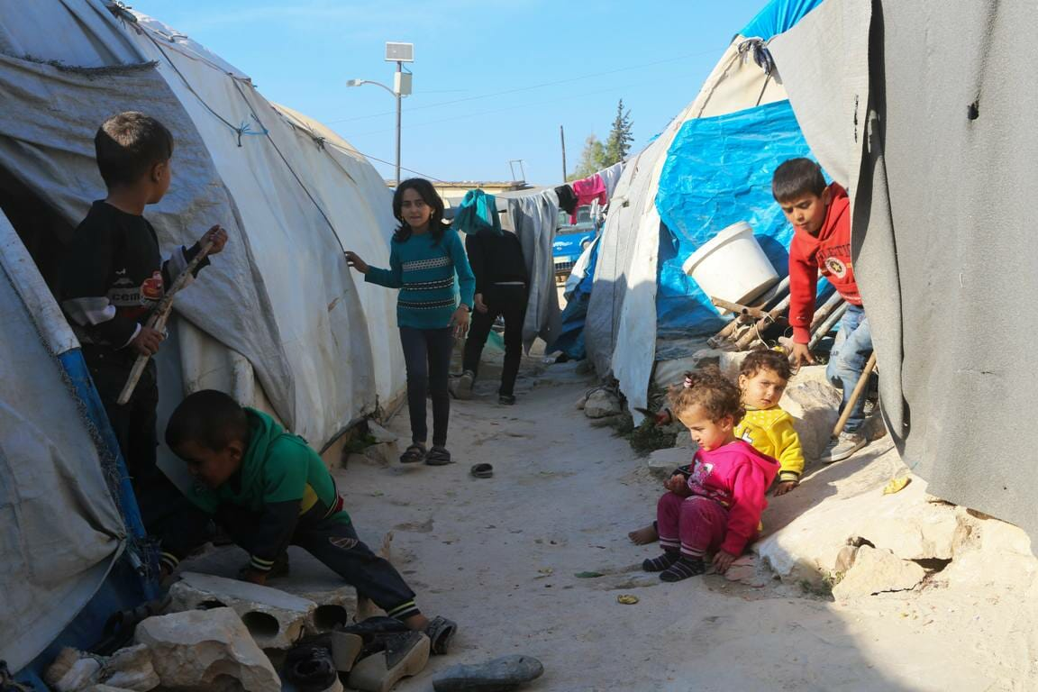 Fluchtlinge in Syrien (imago images/ZUMA Press)