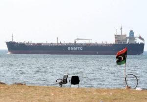 Öltanker vor der libyschen Küste, 2014