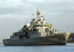 Türkisches Marineschiff (Joost J. Bakker/CC BY 2.0)