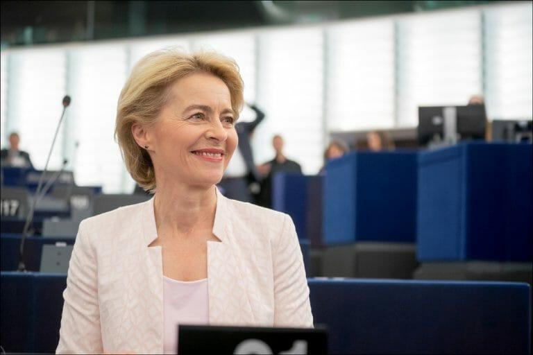 Kommissionspräsidentin Ursula von der Leyen (Quelle: Europäisches Parlament/CC BY 2.0)