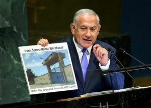 Netanjahu präsentiert der UNO das nukleare Warenlager des Iran
