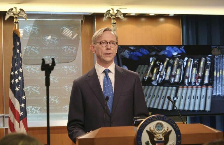 US-Sonderbeauftragter für den Iran Brian Hook
