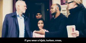 Screenshot des Labour-Videos