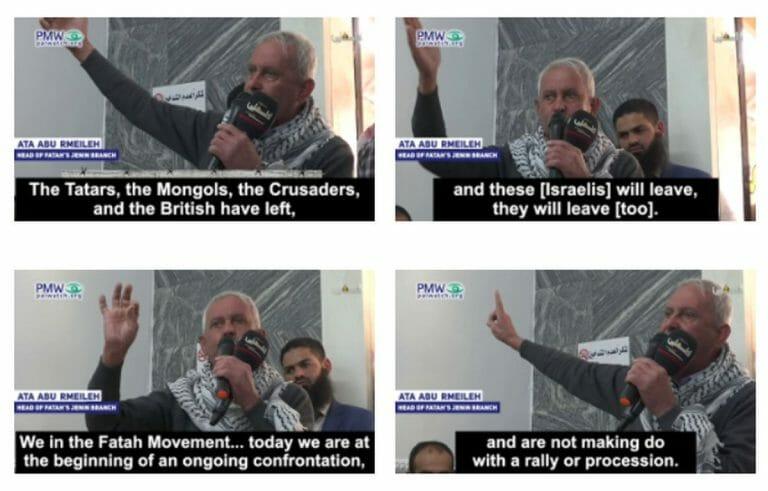 Vorsitzender der Fatah in Jenin Ata Abu Rmeileh