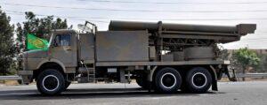 Iranisches Militärfahrzeug