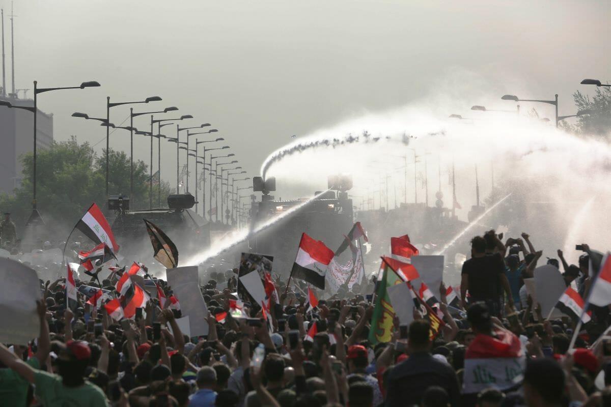 Irakische Sicherheitskräfte gehen gegen Demonstranten vor