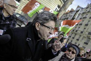 """Der Vorsitzende der französischen Linkspartei """"Unbeugsames Frankreich"""" Jean-Luc Mélenchon"""