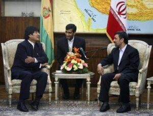 Morales auf Staatsbesuch bei Ahmadinejad in Teheran