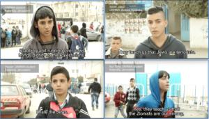 Palästinensischen Schulkindern wird beigebracht, Juden zu hassen
