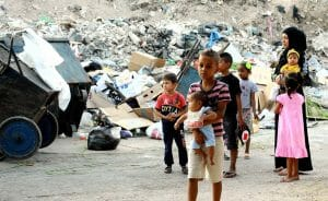 Palästinenser im Lager Jaramanah in Damaskus