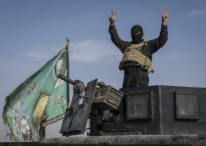 Kämpfer einer dem Iran nahestehenden schiitischen Miliz