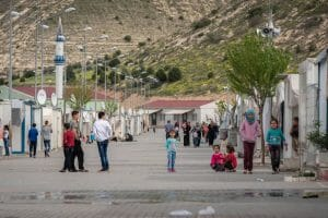 Lager für syrische Flüchtlinge in der Türkei