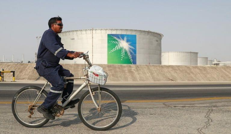 Ölverarbeitungseinrichtung von Saudi-Aramco
