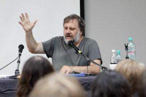 Der Philosoph Slavoj Zizek