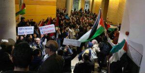 Störaktion propalästinensischer Gruppierungen an der York University