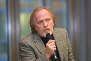 Der israelische Soziologe Moshe Zuckermann