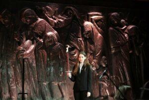 Auschwitz-Gedenken in Jerusalem anlässlich des 75. Jahrestag der Befreiung des Vernichtungslagers (imago images/UPI Photos)
