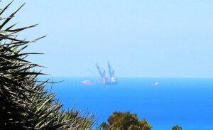 Blick auf das Leviathan-Gasfeld im Mittelmeer vor der Küste von Israel (Deror Avi/CC BY-SA 4.0)