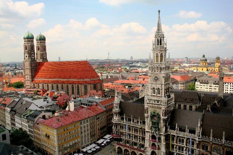 Die bayrische Hauptstadt München (David Kostner/CC BY-SA 2.0 DE)