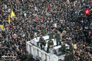 Trauerveranstaltung für Qassem Soleimani in Teheran (Majid Asgaripour/CC BY 4.0)