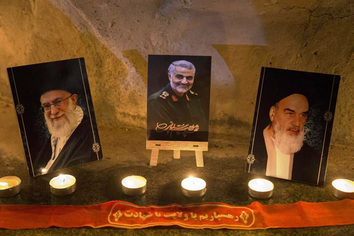 Trauerfeier für Soleimani in Teheran (imago images/ZUMA Press)