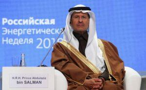 Der saudische Energieminister Prinz Abdulaziz bin Salman