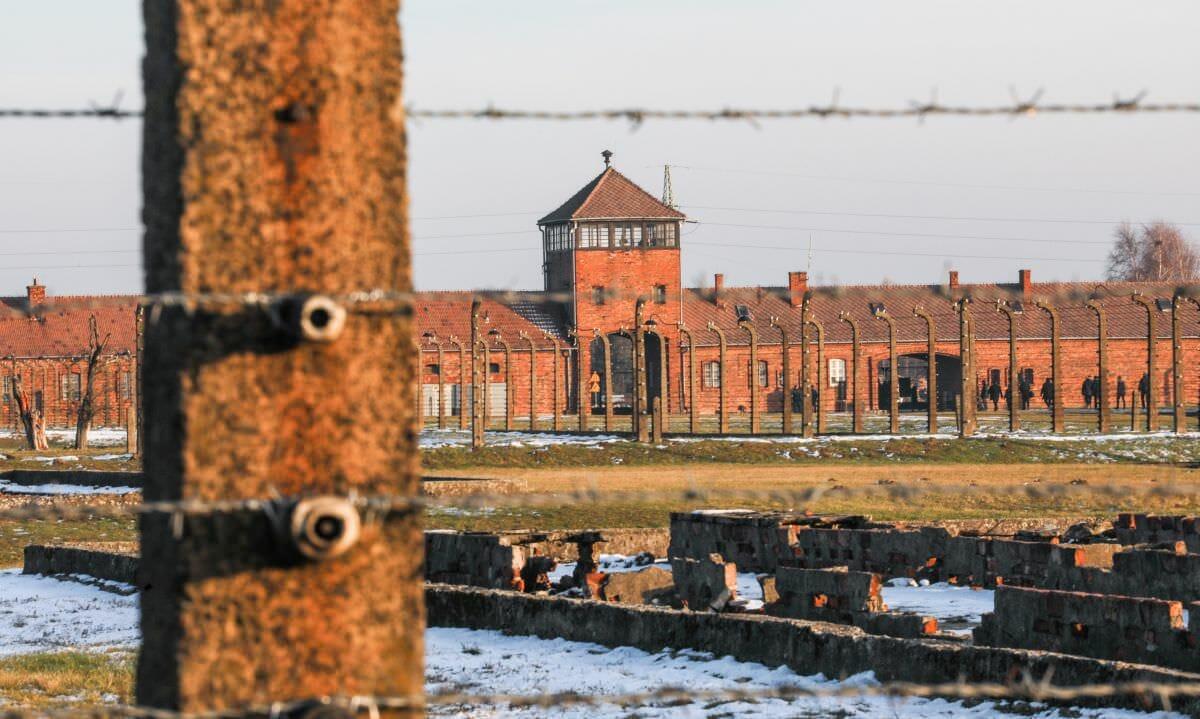 Vernichtungslager Auschwitz-Birkenau, dessen Befreiung am Donnerstag in Jerusalem gedacht wird