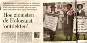 """Die flämische Ausgabe des """"de Standaard"""""""