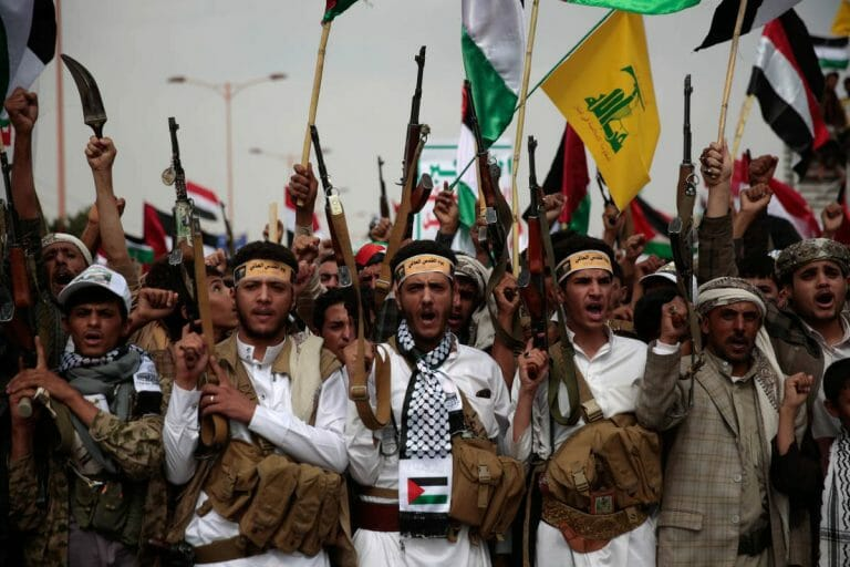 Kämpfer der vom Iran unterstützten Houthi-Miliz im Jemen