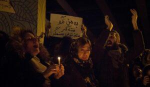 Iraner demonstrieren gegen das Regime