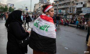 Demonstrantinnen im Irak