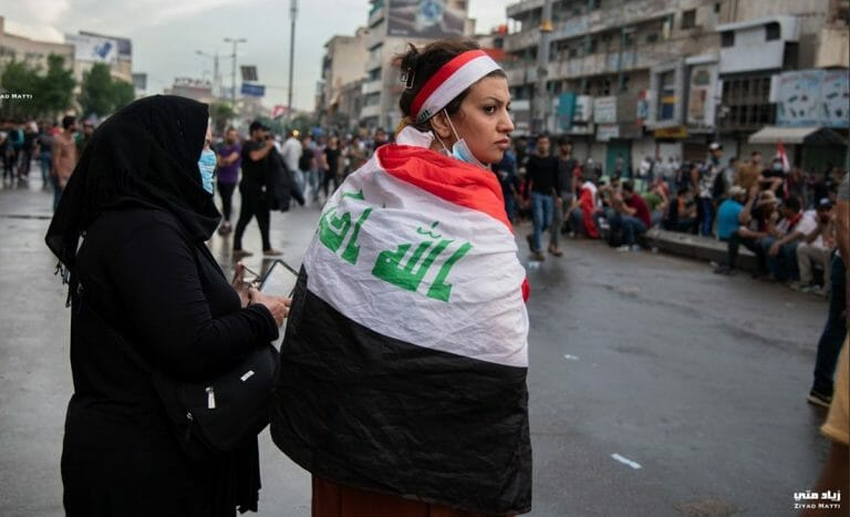 Demonstrantinnen im Irak