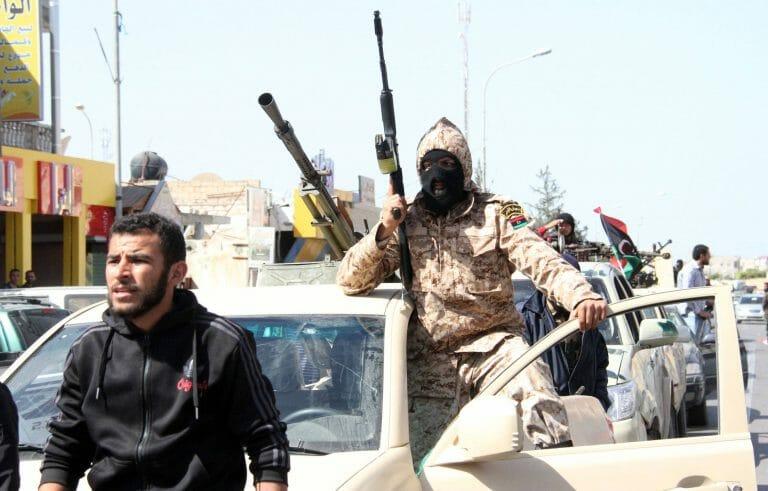 Milizen der GNA-Regierung von Fayez al-Sarraj