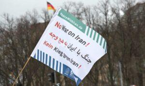 Kundgebung der Friedensbewegung am 11.01.2020 in Berlin